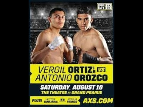 Fight Night Champion Вёрджил Ортис Антонио Ороско Vergil Ortiz Jr Antonio Orozco