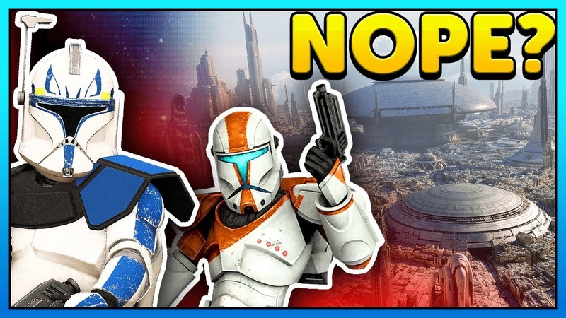 Would Coruscant Clone Wars Heroes come to Star Wars Battlefront 2