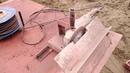 Замена привода на фаскоснимателе и строительство колонн