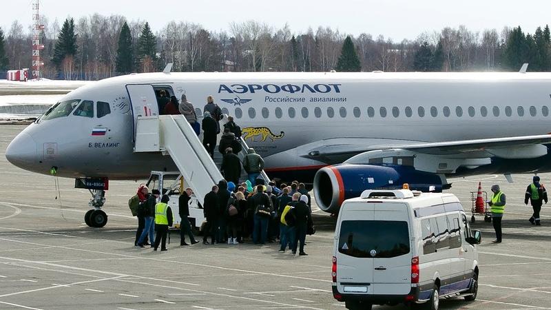 Суперджет Аэрофлота - Не взлетел с первого раза Аэропорт Сочи