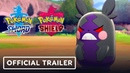 Pokemon Sword and Shield Galarian Forms, New Pokemon, Team Yell Official Trailer