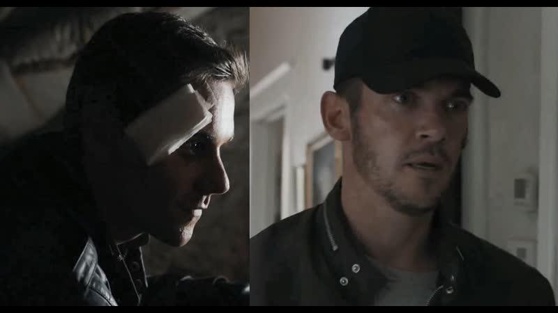 Death scene of Oliver; knocked out, stabbed strangled scene of John