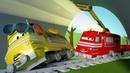 Поезд Трой - Солнечные очки Тэйлор - Поезд по имени Трой в Железнодорожном Городе | Мультфильм