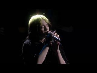 Billie eilishno time to die (live at brit awards 2020)