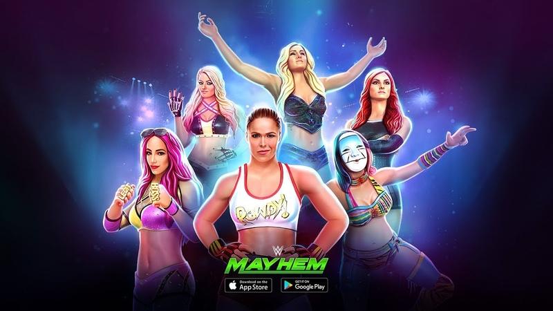 Обновление WWE Mayhem Геймплей Трейлер