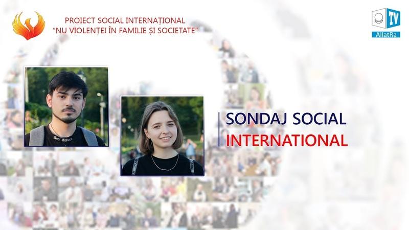 Andreea Mihai Chișinău Moldova Sondaj public Nu Violenței în Familie și Societate