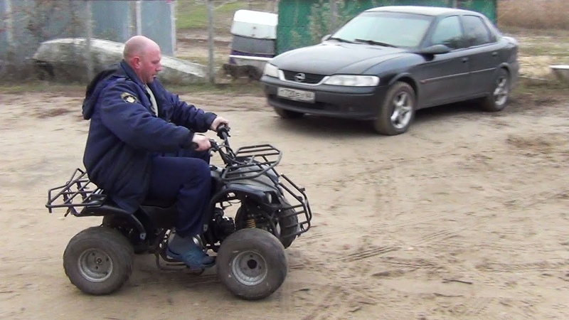 Мотоклуб Печалька: Квадроцикл Armada ATV 50C
