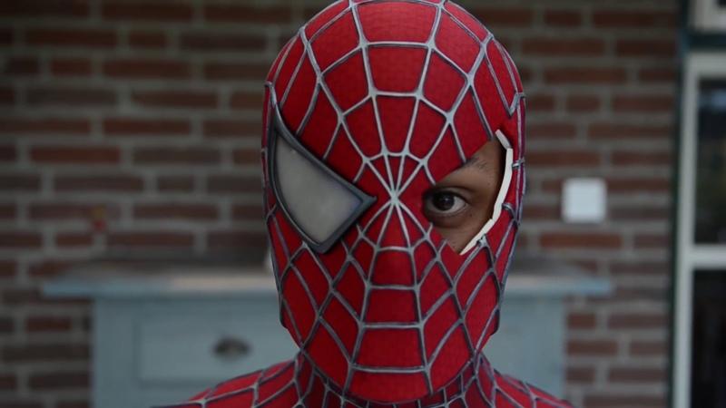 НАСТОЯЩИЙ КОСТЮМ Spider Man Человека Паука Купить костюм Человека Паука