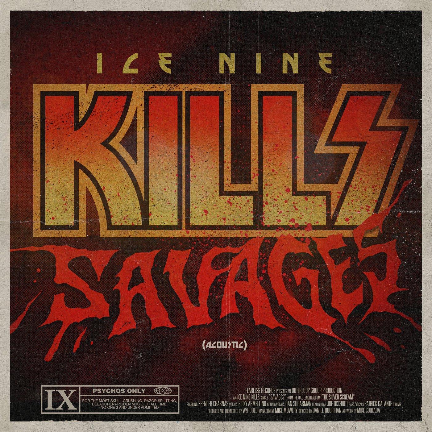 Ice Nine Kills - SAVAGES (Acoustic) [single] (2019)