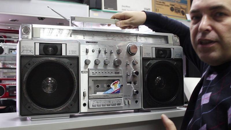 Vintagemoscow магнитола sanyo m-x920k
