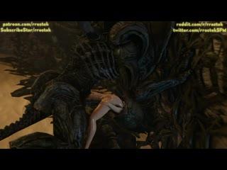 Samus aran fucked hard by xenomorph aliens 3d porn pornhubcom