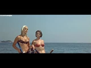 Elke sommer, sylva koscina - deadlier than the male (1967) nude? sexy! / эльке зоммер, сильва кошина - беспощаднее мужчин