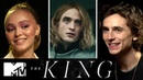 Timothée Chalament The King's Cast On Robert Pattinson's French Accent MTV Movies