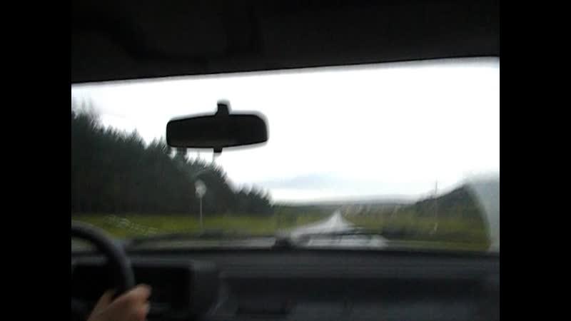 Едем в Самару в командировку по просёлочным дорогам