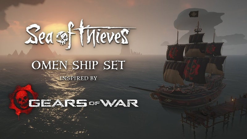Official Sea of Thieves: Omen Ship Set Reveal Trailer