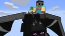 Minecraft But The Ender Dragon Is Our Pet
