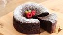 濃厚ガトーショコラの作り方 Flourless Gateau Chocolat|HidaMari Cooking