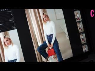 Екатерина мезенова: backstage съемки для сентябрьского номера cosmopolitan
