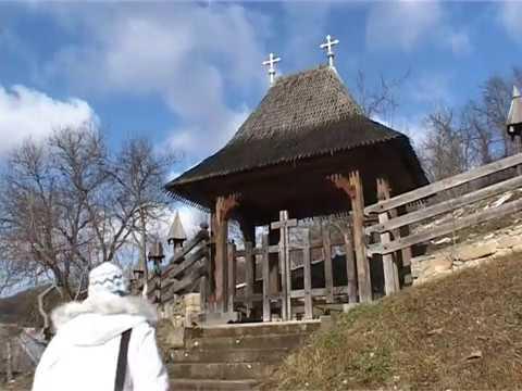 Румыния Maramures biserica de lemn din Barsana