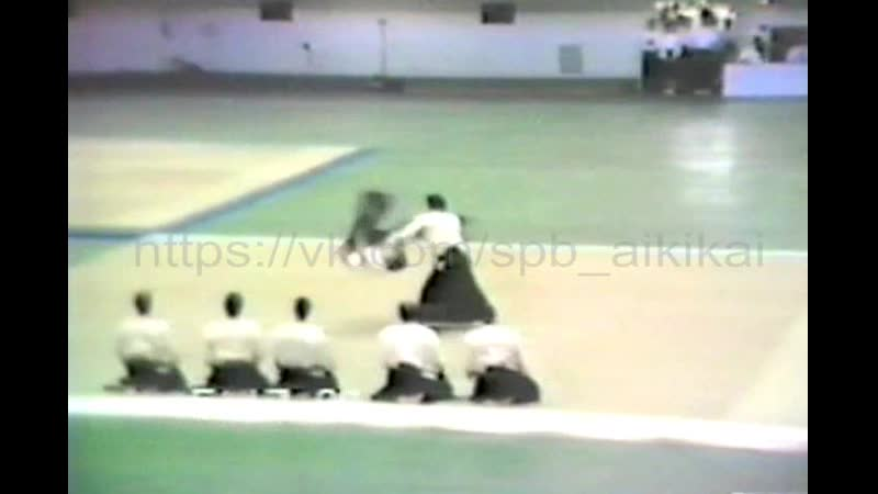 Yamada-sensei (AllJapan Aikido Enbu-1986)