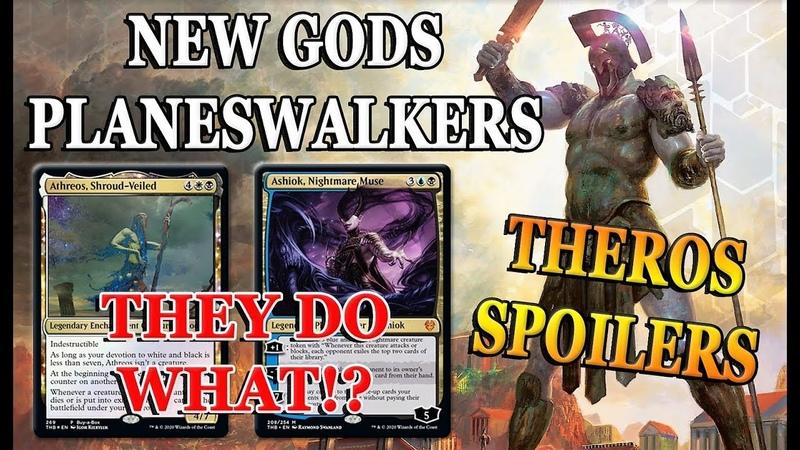Theros Beyond Death Spoilers   MTG God Athreos, Shroud-Veiled