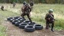 Военно-спортивная эстафета в Солнечной долине