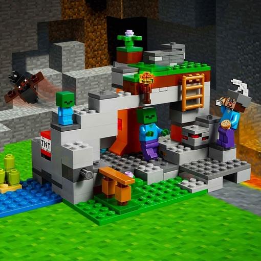лего игры майнкрафт #6