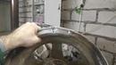 Сварка литого диска поперечная трещина