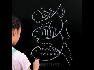 Невероятные рисунки, просто попробуй!