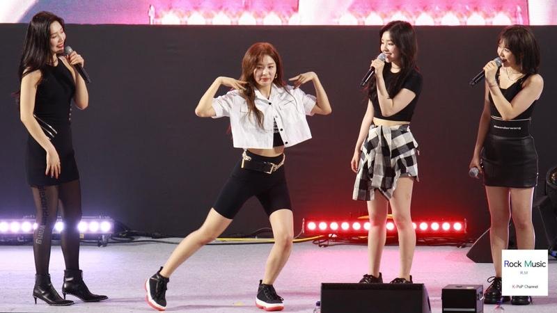 인터뷰 시간에 LG V50 ThinQ CF광고 피카부 춤추는 슬기 레드벨벳 (Red Velvet) 4K 직캠 190721