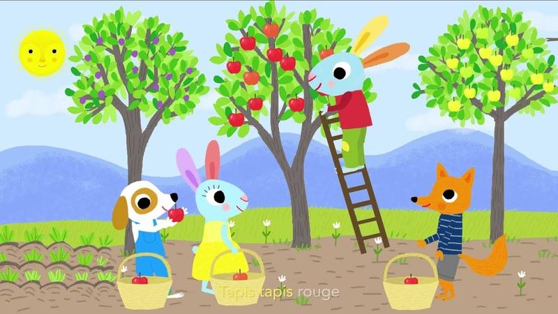 Pomme de reinette et pomme d'api - Chansons et comptines avec Pinpin et Lili