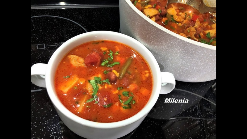 Мексиканский Суп покоряет всех Суп бомба все просят добавку