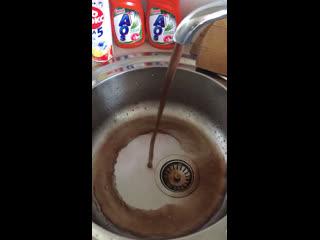 Грязная вода из крана ул.Полярная г.Надым