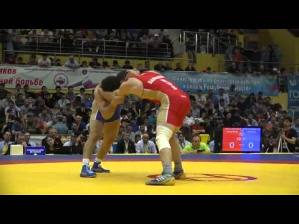 ЧР 2015 Вольная борьба 74 кг Станислав Хачиров Аниуар Гедуев Финал