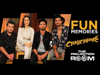 Chhichhore Cast Shares Fun Memories In The Projection Room ShowBox