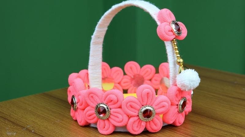 Amazing Flower Pot - Beautiful Flower Vase Making Idea || Best reuse ideas - Best out of waste