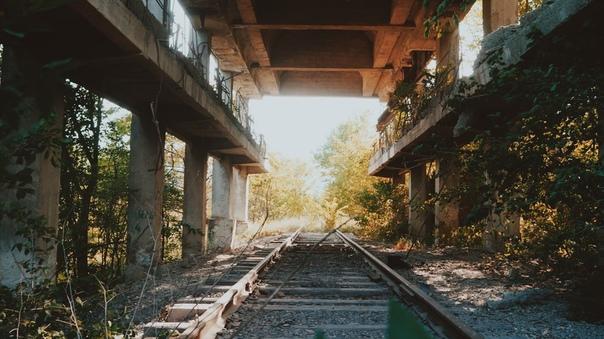 Заброшенные ЖД пути на Подкумке