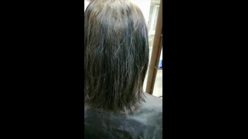 Аминокислотная смывка цвета (выход из черного)