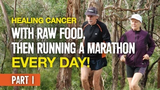 Healing Cancer with Raw Food, Then Running a Marathon Every Day! (Janette Murray-Wakelin, Part 1)