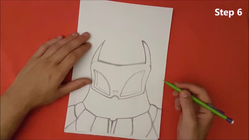 ✍ How To Draw 14 🌟 Cyber Sub Zero (Old Style)   Easy 💫 Mortal Kombat