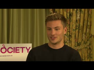 Jannis Niewhner Jannik Schmann High Society - Interviews CineStar