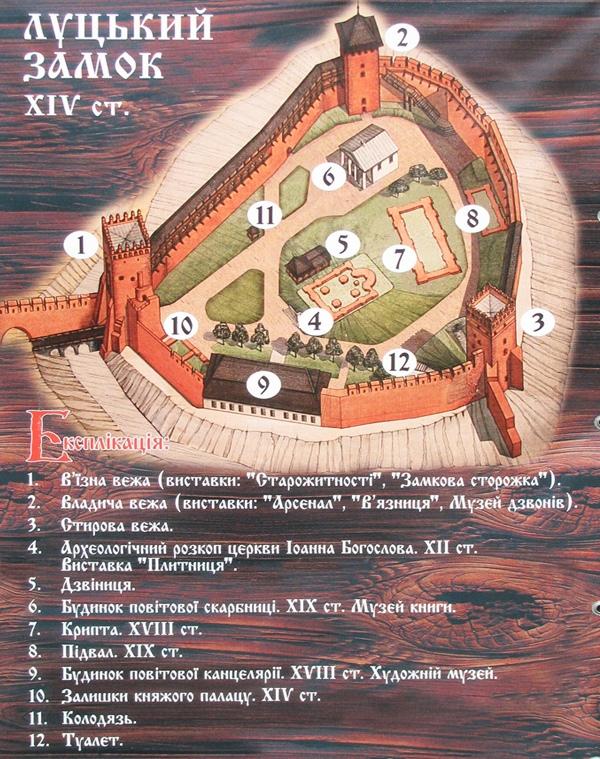 Замок в Луцке