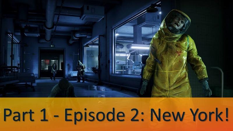WORLD WAR Z Walkthrough Gameplay Part 2 (WWZ Game) Episode 1:New York: Tunnel Vision - No Commentary
