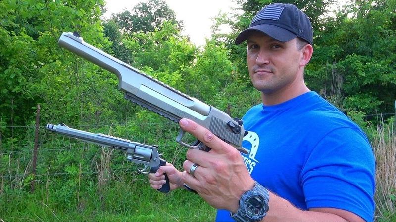Desert Eagle 50 AE vs 500 SW Magnum - THE REMATCH