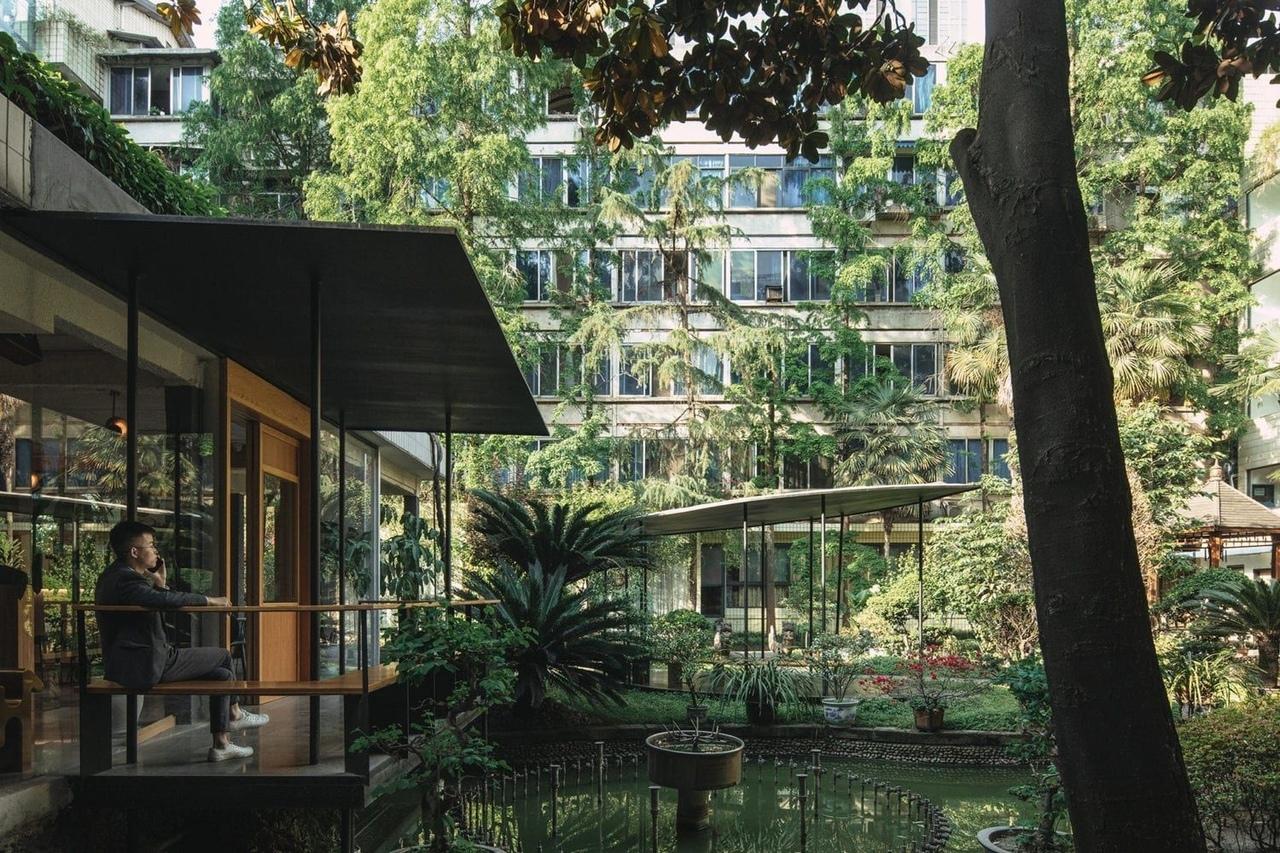 The Garden island countyard renewal In Chengdu, China by Epos Architecture
