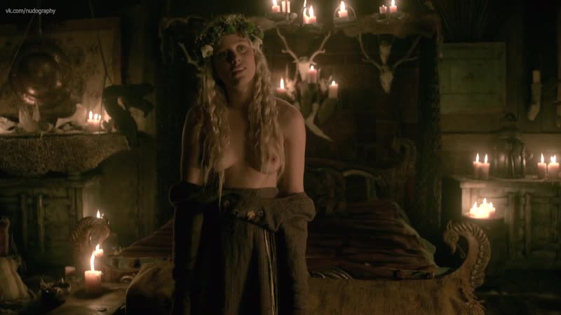 Ида Нилсен Ida Marie Nielsen голая Викинги Vikings 2017 Сезон 4 Серия 18 s04e18 1080p версия без цензуры