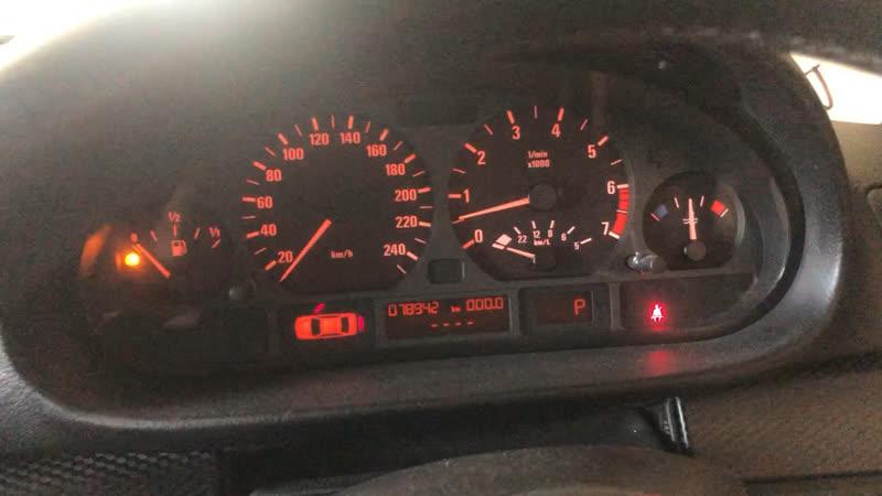BMW E46 325i Touring пробег 79 тыс км