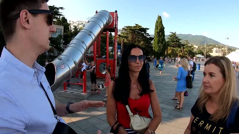 Кому в Крыму отдыхать хорошо Отзыв туристов из Карелии Беларуси Ялта Набережная Отдых Крым 2019