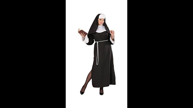 4459 - NUN TERESA (robe, belt, headpiece)