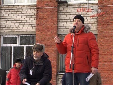 О провокации перед митингом, о том, почему освистали главу АГО - общественник Валерий Абнагимов